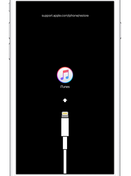 iPhone 進入恢復模式