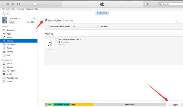 將 Mac 裡的相片影片音樂匯入 iPad
