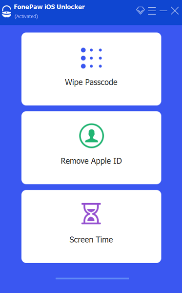 選擇螢幕密碼