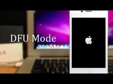 how to exit dfu mode
