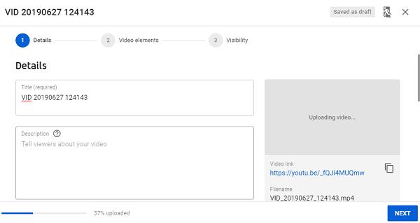 把 Google Slides 上傳至 YouTube