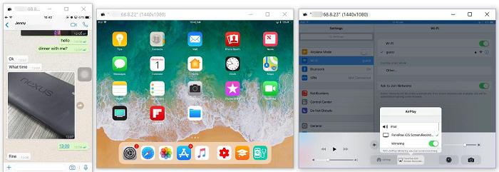 投影 iPhone 螢幕到電腦