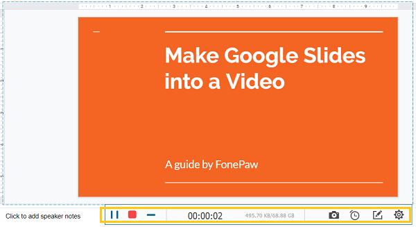 錄影 Google Slides