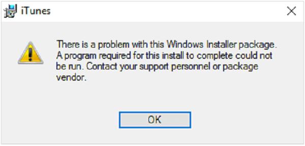 iTunes 無法安裝