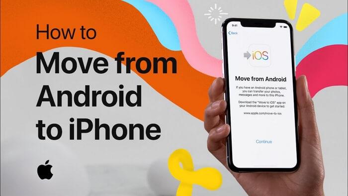 從 Android 移轉到 iOS 失敗